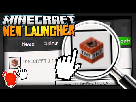 EVERY FEATURE of the NEW MINECRAFT LAUNCHER!