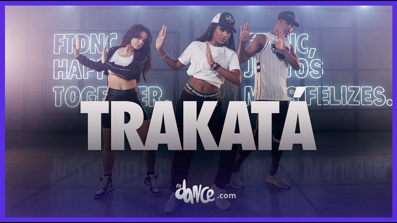 Trakatá - Ptazeta, Farina  | FitDance (Coreografia) | Dance Video