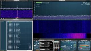We calibrate our RSP-1 and RSP-2 SDR using the auto calibrate featu...