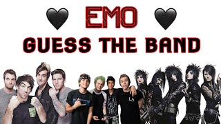 EMO GUESS THE BAND CHALLENGE