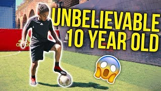 Download lagu UNBELIEVABLE 10 YEAR OLD FOOTBALLER MP3