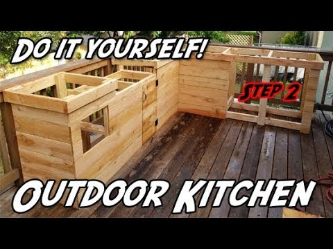 How to Build an Outdoor Kitchen | DIY Outdoor Kitchen ... on Patio Kitchen Diy  id=26054