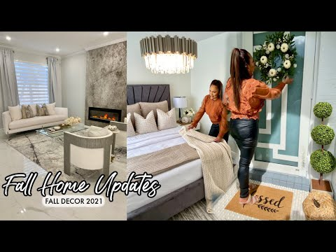 DECORATE WITH ME   NEW DECOR   FALL HOME DECOR UPDATES 2021