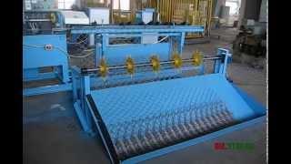видео производство сетки рабицы