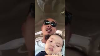 Clip  Bố chế lời bài hát 'tập thể dục buổi sáng' để dạy dỗ con trai 720p