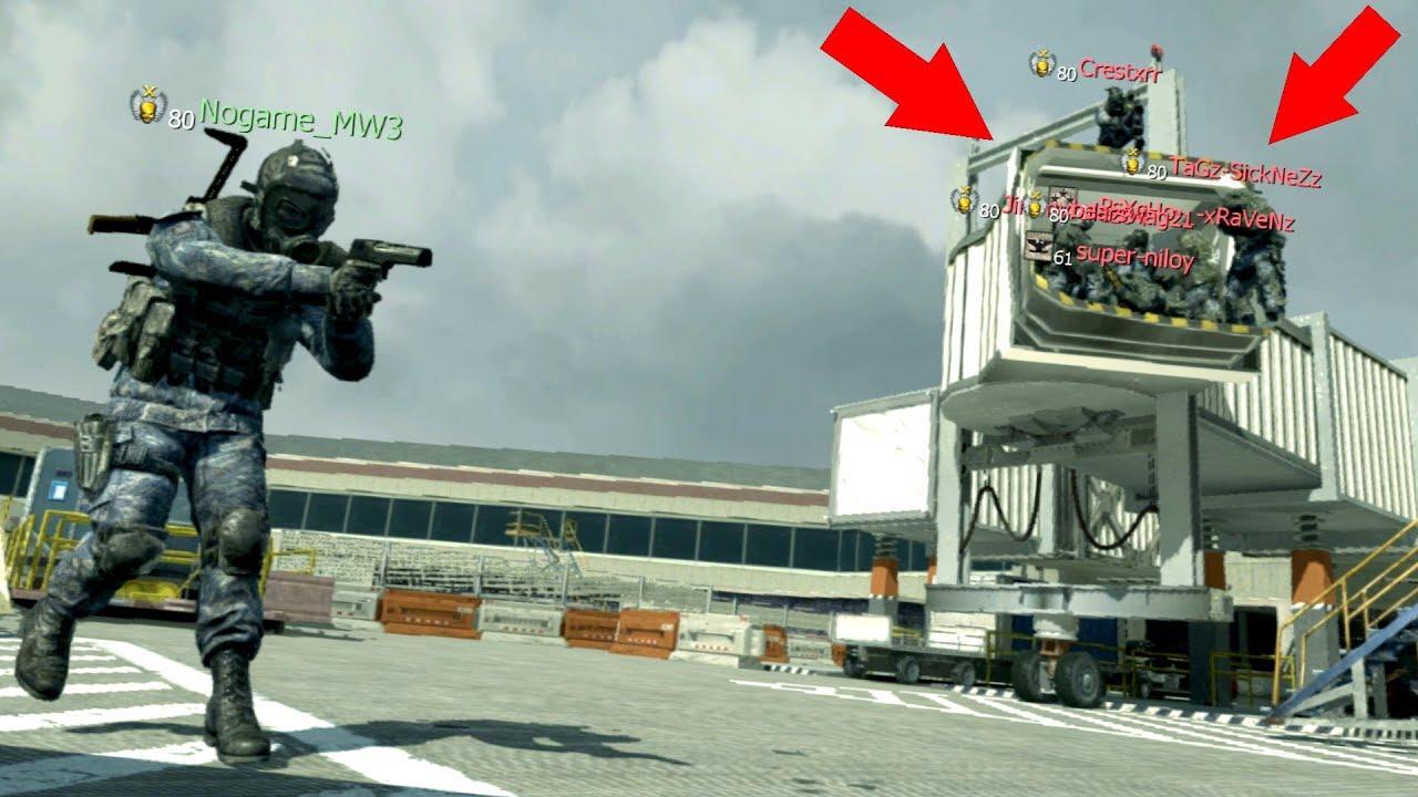 THEY WERE ALL HIDING OUTSIDE THE MAP!?!?! HIDE N' SEEK ON  MODERN WARFARE 3