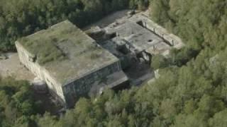 Deminage Bombe sur toit de blockhaus eperlecques