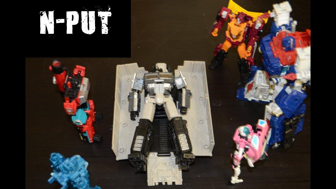Alternate Universe Optimus Prime Review by N-PUT
