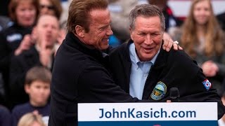 Kasich​ responds to Arnold Schwarzenegger​
