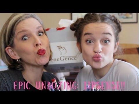 Epic Unboxing: LIPSENSE!