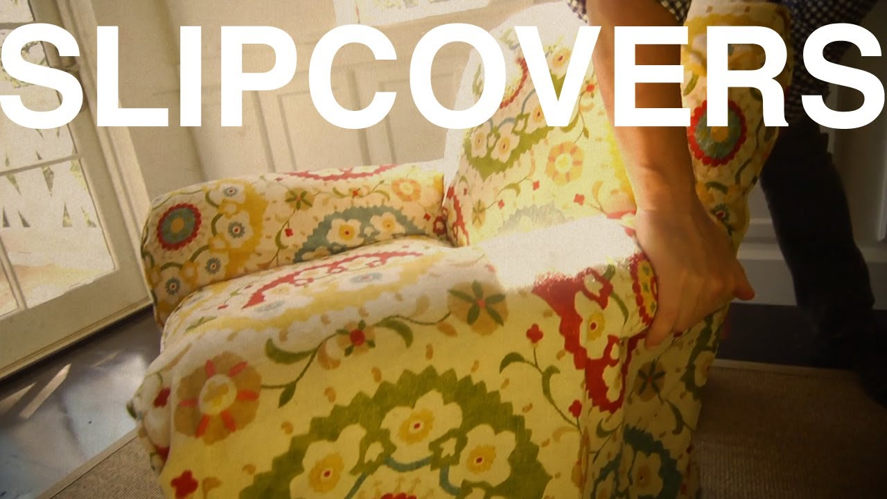Slipcovers | The Garden Home Challenge With P. Allen Smith