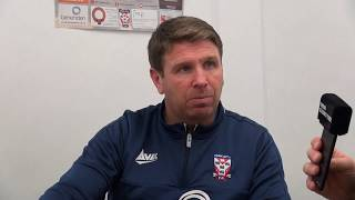 Martin Gray pre-match interview (AFC Telford United)