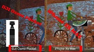 4K 30 fps DJI Osmo Pocket vs Mobile 2 - Best iPhone on Gimbal vs the Pocketable Set-up