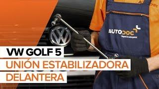 Vea nuestra guía de video sobre solución de problemas con Bieleta de barra estabilizadora VW