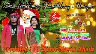 "Gambar cover ALBUM NATAL 18 NONSTOP  UNING-UNINGAN  "" BILLY & IKA S"
