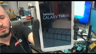 """Samsung Galaxy SM-T217S Tab 3 7"""" Charging port replacement Video"""