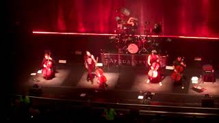 Apocalyptica - For Whom The Bell Tolls, Mexico City, Teatro Metropólitan