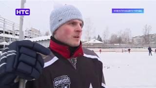 Защитник тюменского «Рубина» Александр Федотов провел тренировку с юными хоккеистами  «Урал-Ирбит»