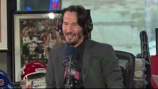 Keanu Reeves talks about POINT BREAK LIVE!