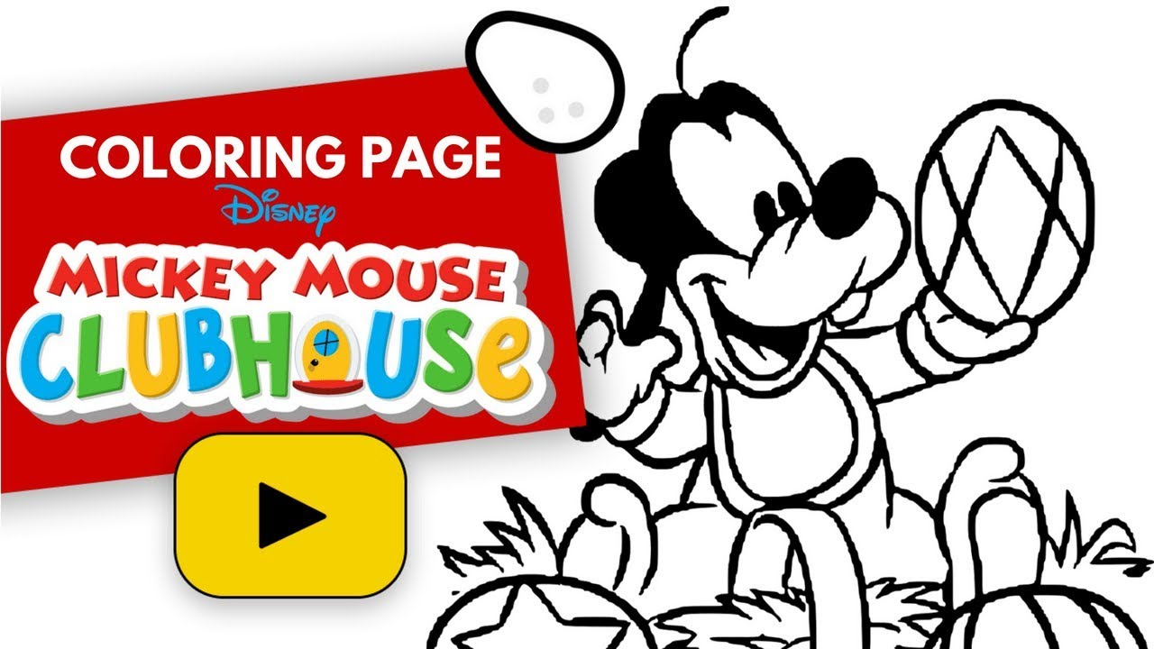 Goofy Baby Mickey Mouse Clubhouse