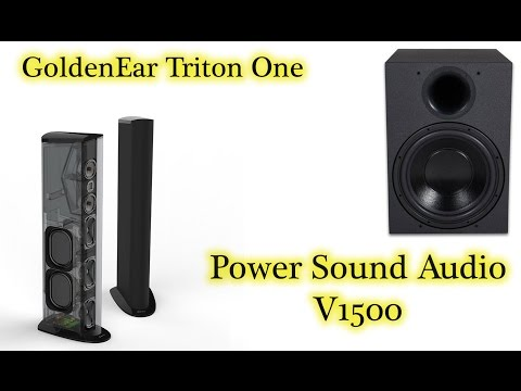 GoldenEar and Power Sound Audio Home Theater by the lounj