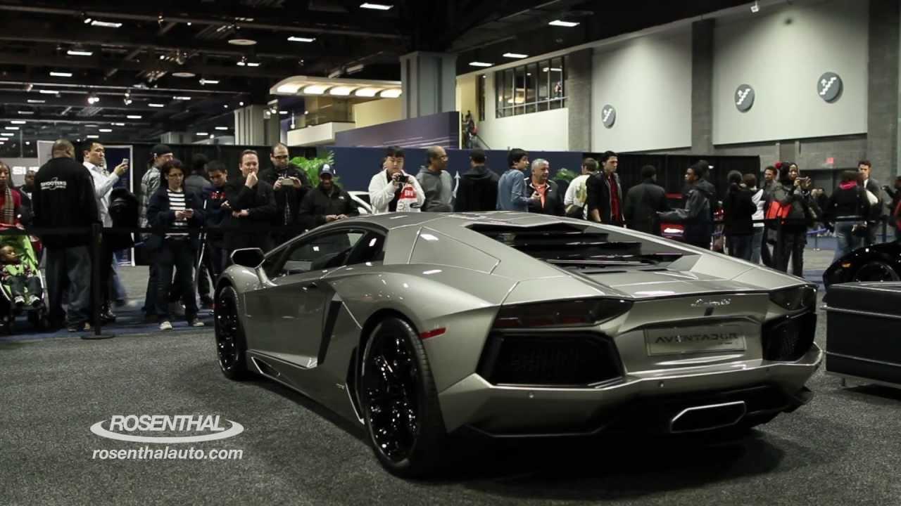 Rosenthal Autos Steve Kerndt Visits The Washington Auto Show - Washington car show discount tickets