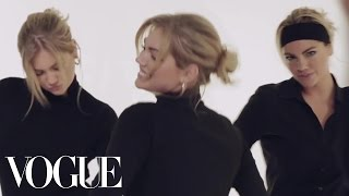 Kate Upton Shows Off Her Dance Moves - Vogue Original Shorts