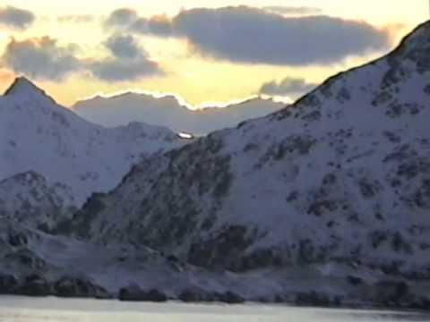 Adak Alaska Sunrise   Feb 4, 1995