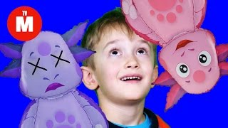 Лунтик вернулся!!! Ура!!! КАК МАГАНАТИК ОЖИВИЛ ЛУНТИКА Видео для детей