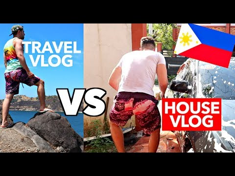 """TRAVEL VLOG"" VS ""REAL LIFE"" My Life in MANILA Philippines 🇵🇭"