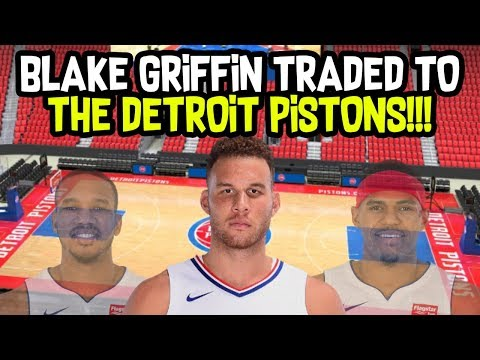BLAKE GRIFFIN TRADED TO THE DETROIT PISTONS! BIGGEST FAN REACTION! NBA SEASON SIMULATION