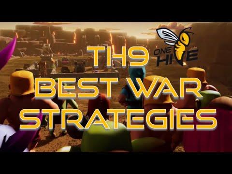 TH9: TOP 3 Best War Strategies | Clash Champs