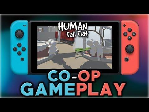 Human Fall Flat   Co-op Gameplay   Nintendo Switch