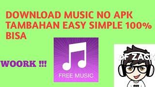 Gambar cover Download Music Di google Simple NO APK TAMBAHAN FIX 💯% work