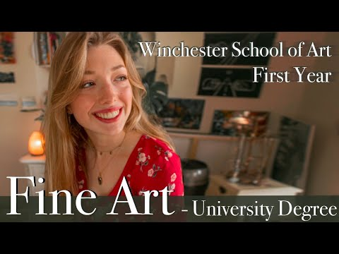 Fine Art Degree   First Year   Winchester School of Art