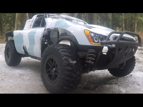 Rc Electric Cars Traxxas Slash Ultimate Ice Ricers Style