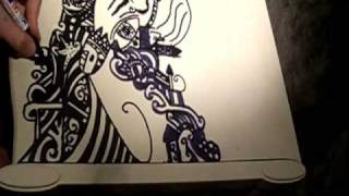Drawing on my furniture