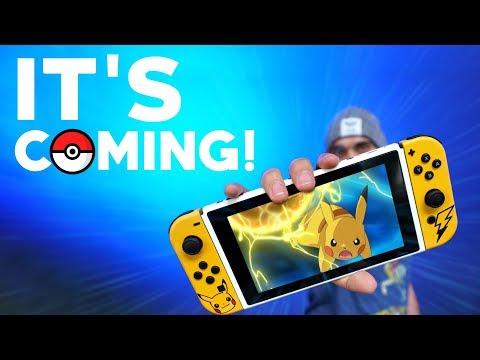 The Pokemon Nintendo Switch Leaks