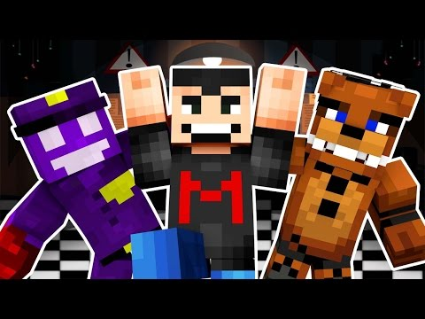 Markiplier Goes Into Five Nights At Freddy's 4 (Night 3) - Minecraft Roleplay!