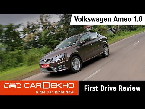 Volkswagen Ameo 1.0 Petrol Review (In Hindi)   CarDekho.com