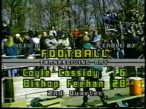 1993 Bishop Feehan High School Football Tony Chang Highlights (2)~