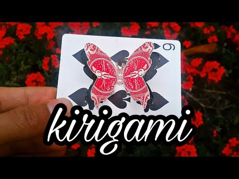 Cartas de Magia - Tutorial Kirigami de Mariposa (Parte 2)