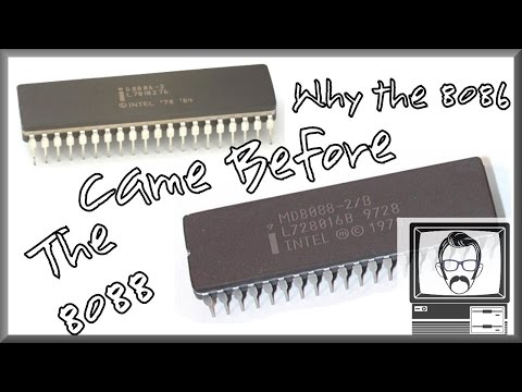8088 & 8086 CPUs... Why 16 bit Came Before 8 bit [Byte Size] | Nostalgia Nerd