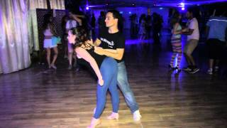 Alon and Maayan Bachata Sensual dance