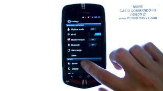 Casio Commando 4G - How Do I Disable Dial Pad Touch Tones