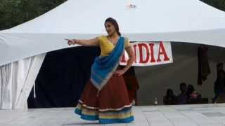 Indian Dance at Edmonton Heritage Festival 2014