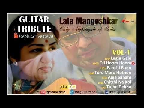 Happy Birthday to Lata Mangeshkar | 🎸Guitar Tribute by Kapil Srivastava | Instrumental MusicCover
