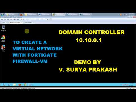 Fortigate Firewall VM Demo Using VMware Workstation - Most Popular