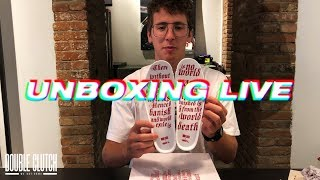 """UNBOXING LIVE - Double Clutch x AND1 """"City of Love"""""""