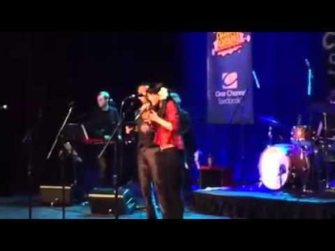 "LENA HALL and DAVID LaMARR -- Celebrity Karaoke: ""Suddenly Seymour"""
